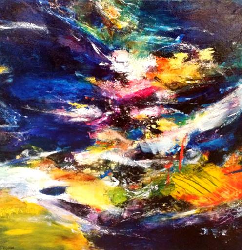 CHHOUR Kaloon - Gemälde - HK 7156