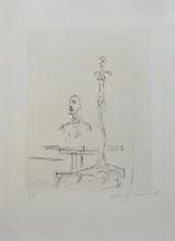 阿尔贝托•贾科梅蒂 - 版画 - Dans l'atelier