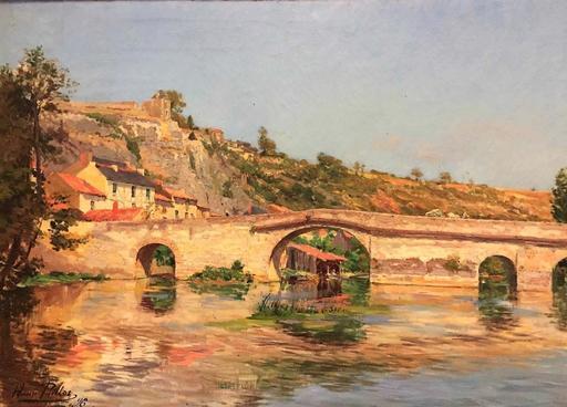 Henri PAILLER - Painting - Le Pont de Rochereuil