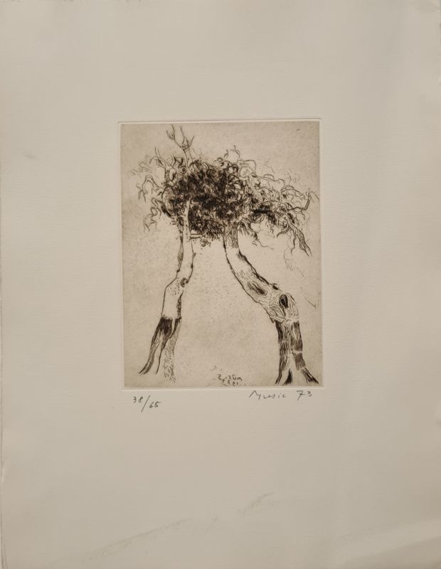 Zoran Antonio MUSIC - Print-Multiple - Motif végétal