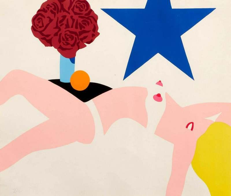 Tom WESSELMANN - Print-Multiple - Great American nude