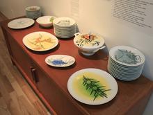 维夫里多•拉姆 - 陶瓷  - Porcelana Albisola - full set of 42 ceramic works!