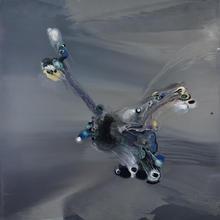 Lionel SABATTÉ - Painting - Echaffaudage d'une traversée