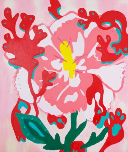 Sébastien COUEFFIC - Peinture - Fleurs des Indes 8