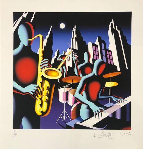 Mark KOSTABI - Print-Multiple - Full Moon Quartett