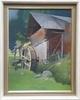 """Ferdinand Karl GOLD - Gemälde - """"Water Mill"""", Tempera, ca 1930"""