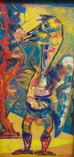 Marc STERLING - Gemälde - Le dinosaure