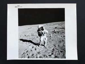 N.A.S.A. - Fotografia - Apollo 16 on moon, Astronaut J.W. Young