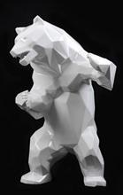 Richard ORLINSKI - Sculpture-Volume - Standing Wild Bear «born Wild»
