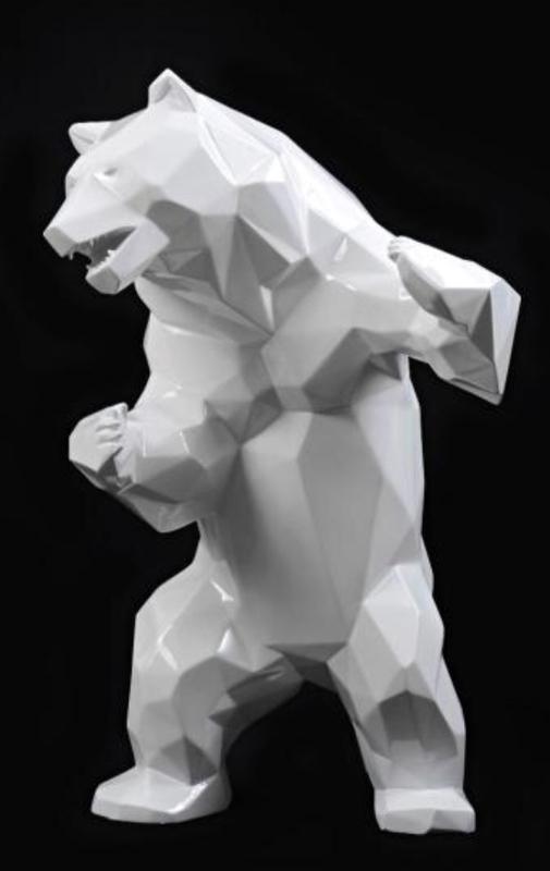 Richard ORLINSKI - Escultura - Standing Wild Bear «born Wild»