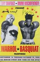 Andy  WARHOL & Jean-Michel  BASQUIAT - Print-Multiple - Warhol/Basquiat Paintings
