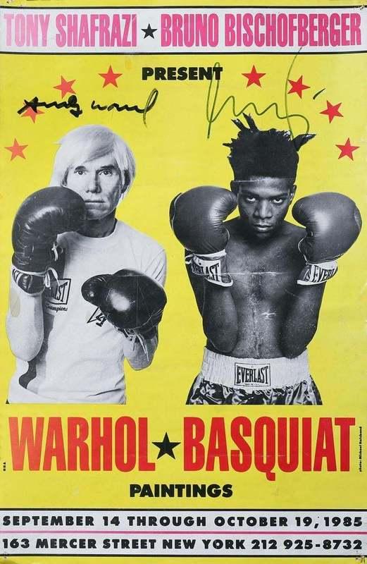 Andy  WARHOL & Jean-Michel  BASQUIAT - Stampa-Multiplo - Warhol/Basquiat Paintings