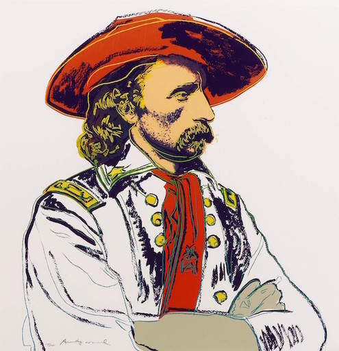 Andy WARHOL - Stampa-Multiplo - General Custer (FS II.379)