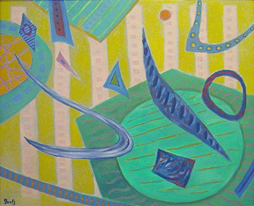 Henri GOETZ - Peinture - Moment du vol
