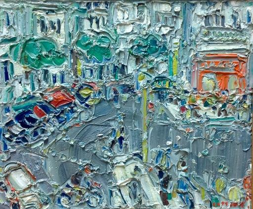 アンドレ・コタボ - 绘画 - Raspail, Paris