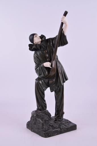 Dimitri CHIPARUS - Sculpture-Volume - Pierrot