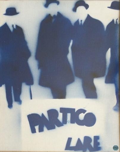 Mario SCHIFANO - Pintura - Particolare