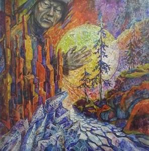 Elena SIMURZINA - Painting - Spirit of Awakening