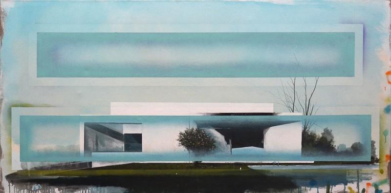 Peter HOFFER - Peinture - Bauhaus No 01