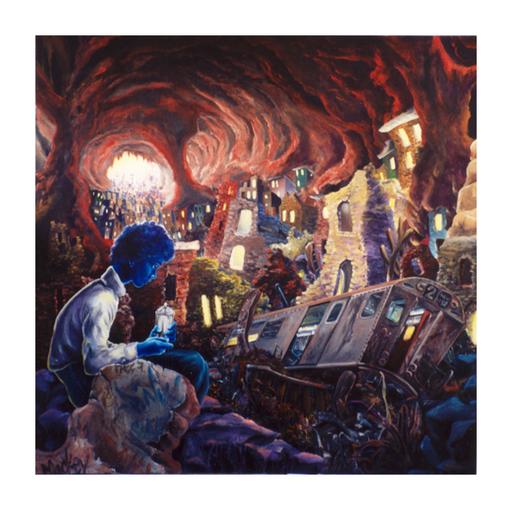 LADY PINK - Stampa-Multiplo - Blue Boy
