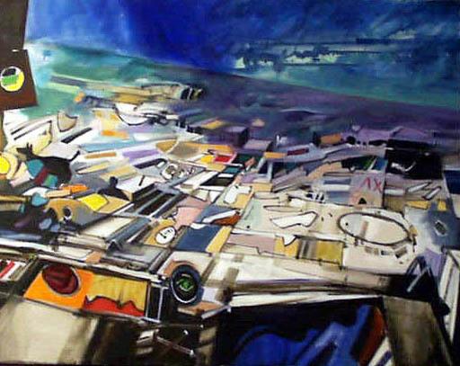 John Philip HULTBERG - Pittura - Sliding Citi