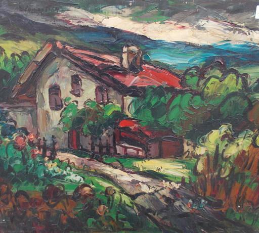 Elemer VAGH-WEINMANN - Pittura - Pays Basque