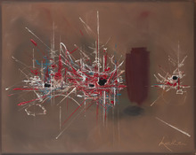 Georges MATHIEU - Peinture - Ambroisie