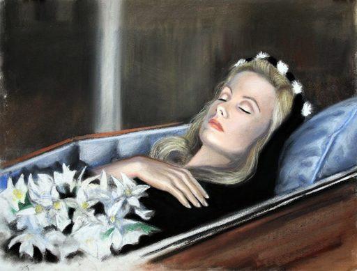 Nathalie BIBOUGOU - Drawing-Watercolor - « Belle de jour »