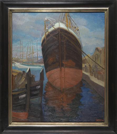 Harmen Hermanus MEURS - Painting - Marine