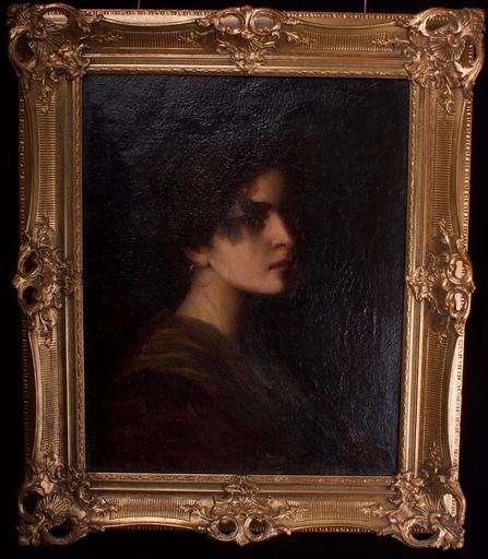 Siegfried LABOSCHIN - Pintura - Junge Schönheit