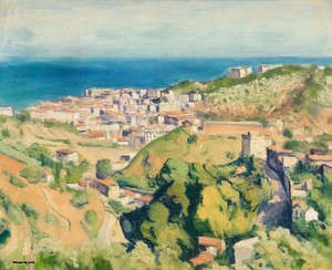 Albert MARQUET - Peinture - Vue d'Alger