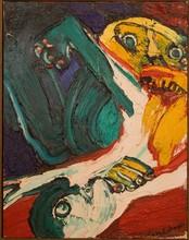 Bengt LINDSTRÖM - Painting - Kannibalen