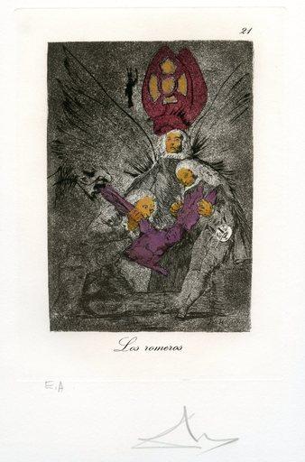 萨尔瓦多·达利 - 版画 - GRAVURE SIGNÉ AU CRAYON ANNOTÉ EA ML868 HANDSIGNED ETCHING