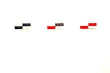 Bertrand LAVIER (1949) - Triptych no1