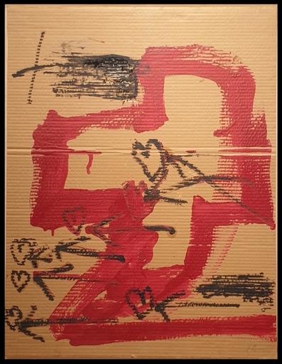 Antoni TAPIES - Gemälde - Fletxes i Cors