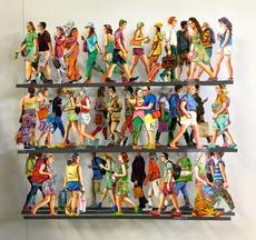 David GERSTEIN - Escultura - 5th Avenue - part K