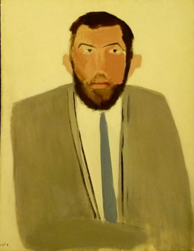 Michael GROSS - Gemälde - Portrait