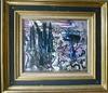 André MARCHAND - Painting - Rochers et cyprès