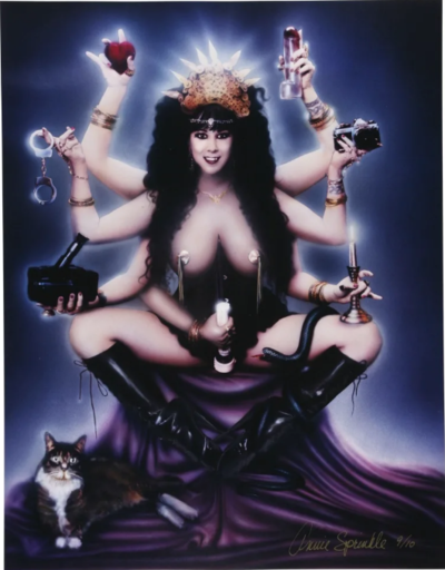 Annie SPRINKLE - Fotografie - Sex Goddess