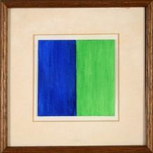 Georg Johann TRIBOWSKI - Dibujo Acuarela - Bicoloured Composition