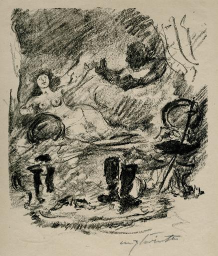 Lovis CORINTH - Print-Multiple - Wiedervereinigung mit der zur Gräfin emporgestiegenen Aline
