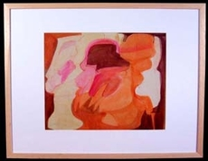 Grace RENZI - Painting - Abstraction 2