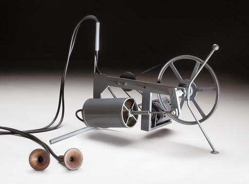 Piero FOGLIATI - Skulptur Volumen - Macchina che respira