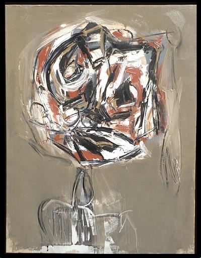 Antonio SAURA - Painting - DAMA