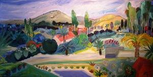 Amos YASKIL - Peinture - The Landscape View