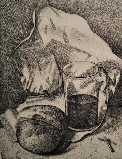 Aimé Victor BARRAUD - Stampa-Multiplo - Le pain, le vin