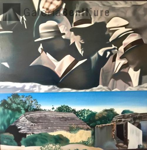 EQUIPO REALIDAD - Pintura - Casas viejas