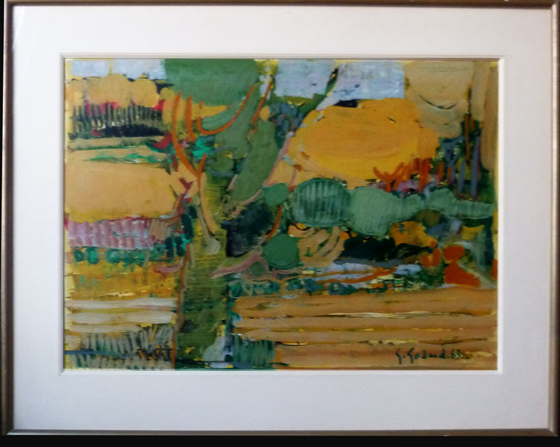 Gabriel GODARD - Pintura - Paysage