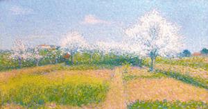 Achille LAUGÉ - Painting - Verger de l'Artiste