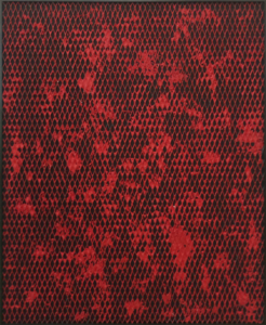 Clemens WOLF - Painting - Expanded Metal Painting